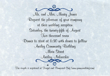 Print Your Invitations Motherhood Printing Mary Hall